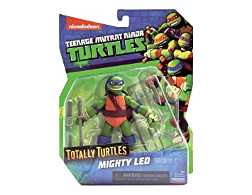 Totally Turtles Brothers - Mighty Leo: Amazon.es: Juguetes y ...