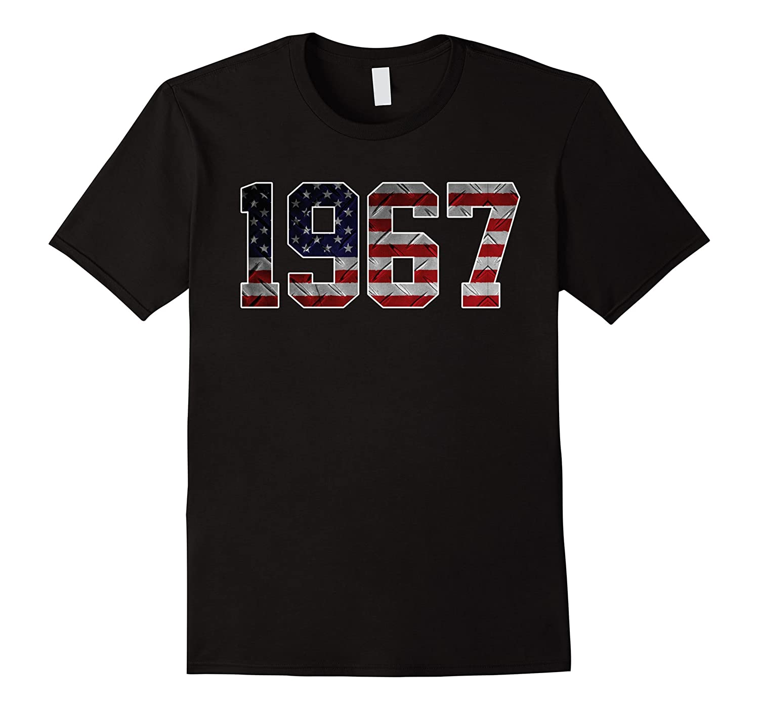 1967 American Flag T-shirt 50th Birthday Gifts-PL