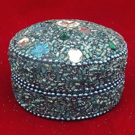 mesa antigua caja de pastillas de estilo vintage encima decoración del hogar caja de la joyería