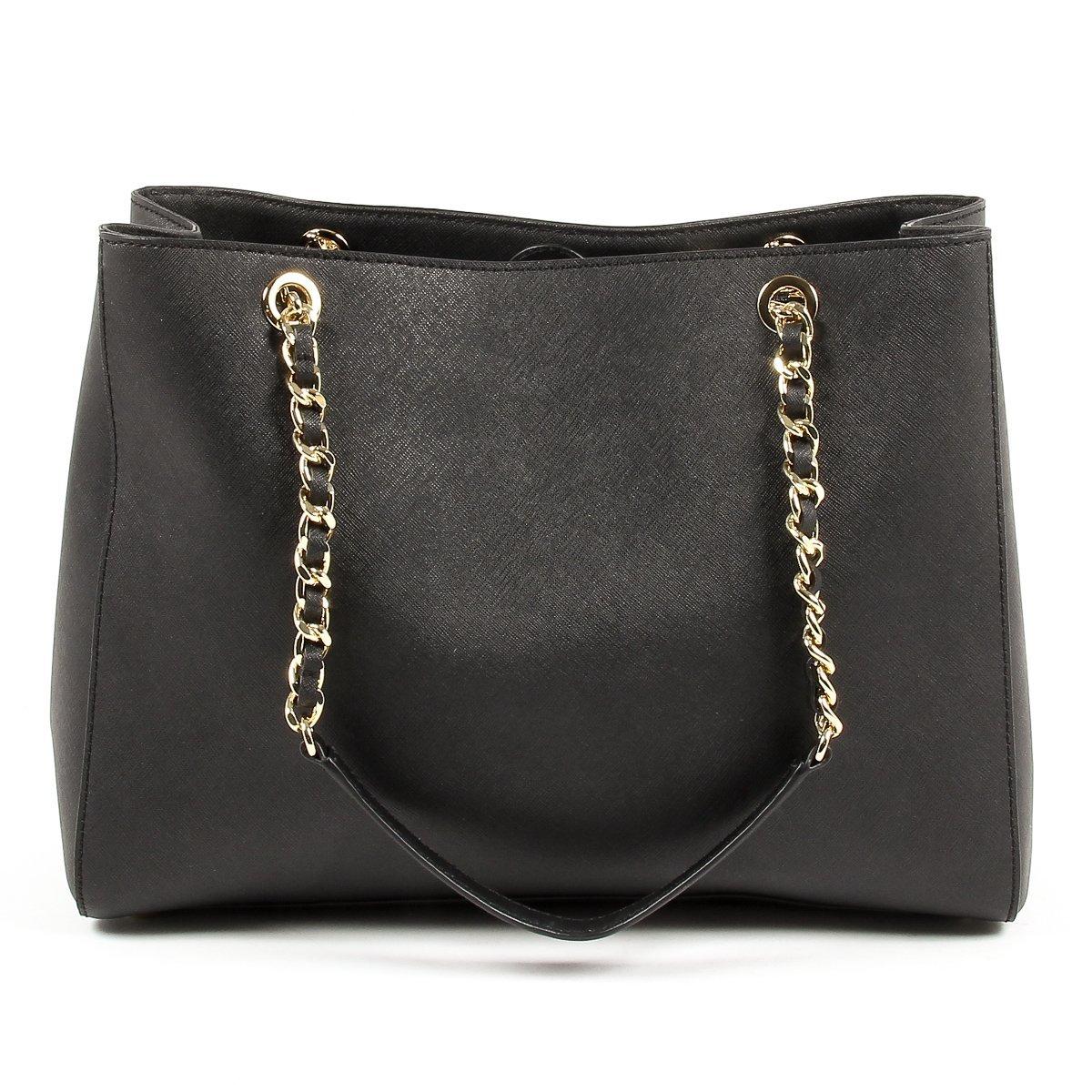 8901917f777ce9 Amazon.com: Michael Kors Susannah Ladies Large Leather Tote Handbag  35H6GAHT7L001: Watches