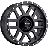 "Method Race Wheels 306 Mesh Matte Black 17x8.5"" 5x5"", 0mm offset 4.75"" Backspace, MR30678550500"