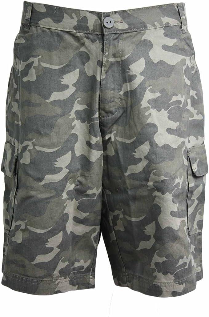 Mens Cargo Shorts 100/% Cotton Chino Casual Combat Summer Cotton Work Half Pants