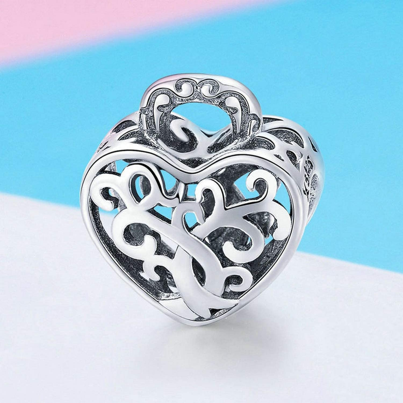 Evereena Silver Beads Bracelet for Girls Luxury Christmas Tree Charm Womens Jewelry