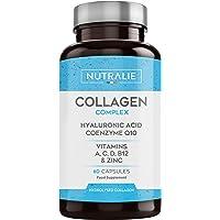 Colágeno + Ácido Hialurónico + Coenzima Q10 + Vitaminas A, C, D y B12 + Zinc | Energía y…