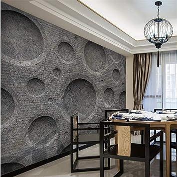 Amazhen Benutzerdefinierte Tapete 3D Zement Textur Tapete 3D Tapeten ...