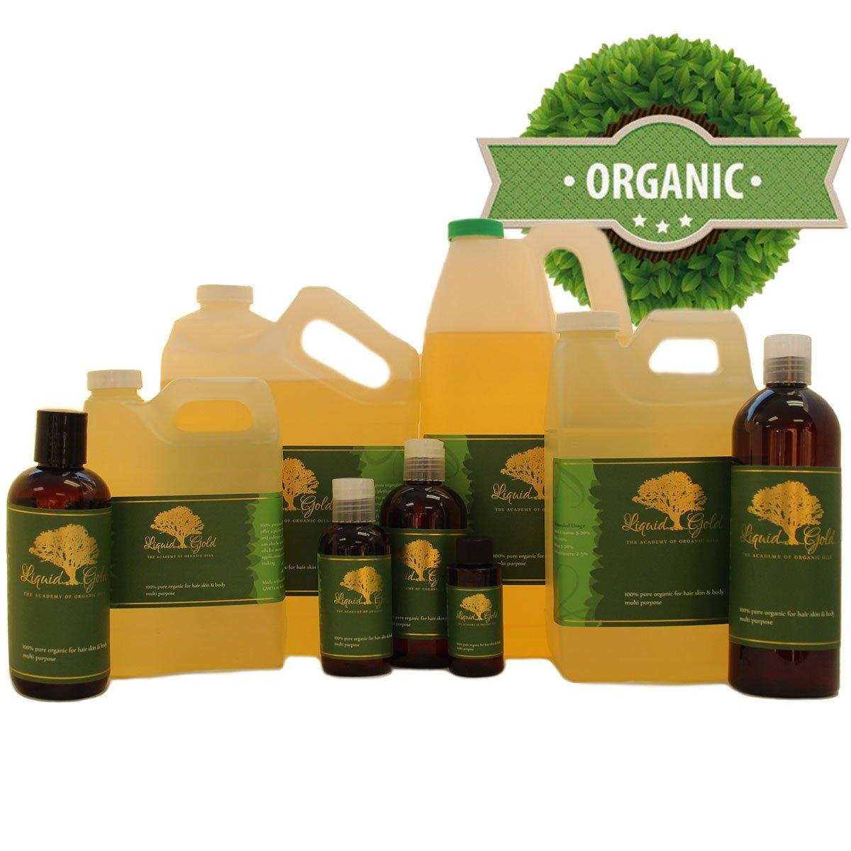 48 Fl.oz Premium Organic Safflower Oil Pure Health Hair Skin Care Moisturizer (3 of 16 Oz bottles) by Liquid Gold