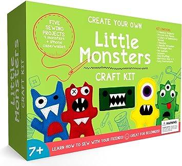 Little Monsters principiantes Kit de costura – impresionante ...
