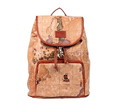 Di grazia womens world map backpack brown brown drawstring map di grazia womens world map backpack brown brown drawstring map backpack gumiabroncs Gallery