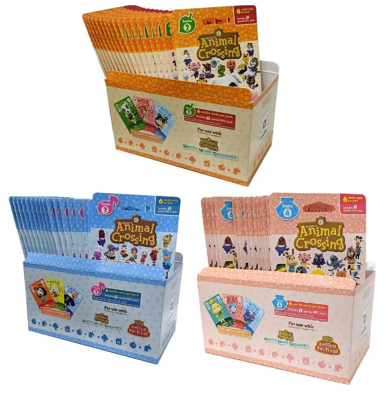 Animal Crossing New Horizons Amiibo pack of 5