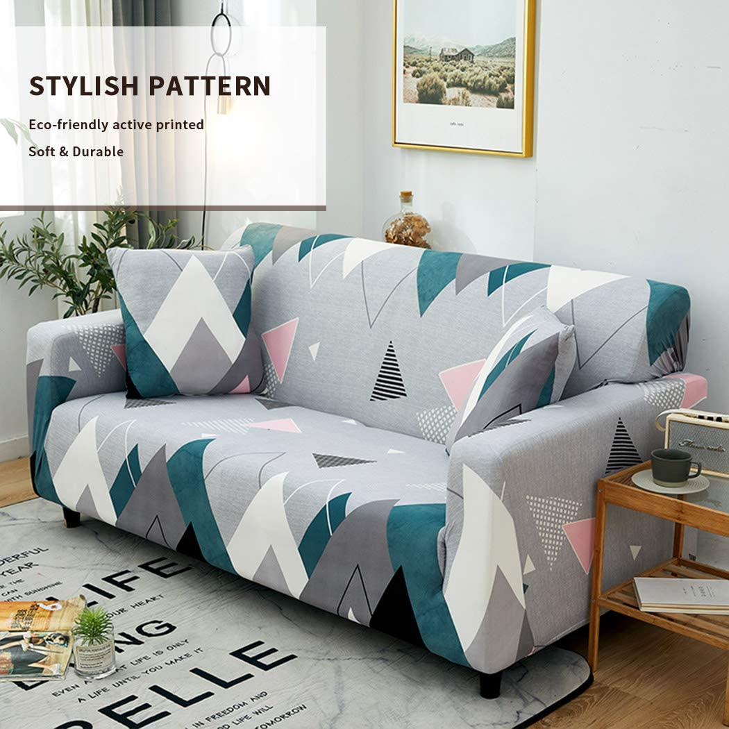 Ihoming Stampato Copridivano Allungare Slipcovers Decorativo Protezione per mobili