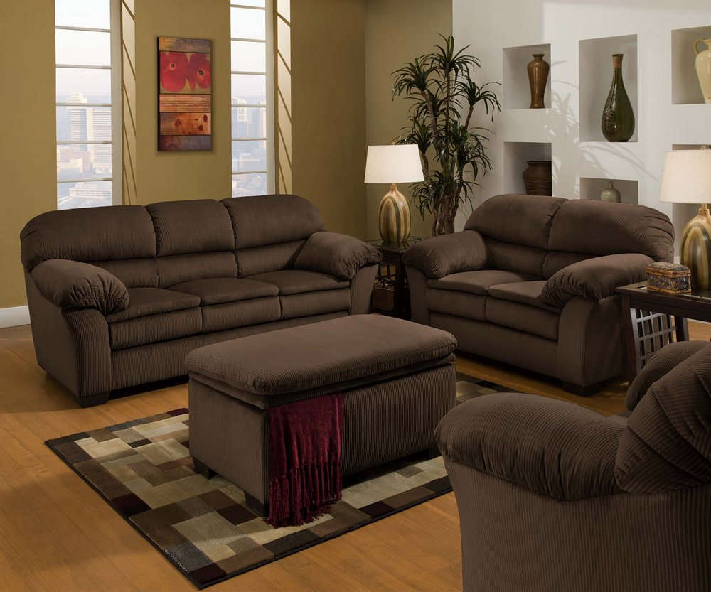 Admirable Amazon Com Simmons 5209 Deluxe Microfiber Corduroy Sofa Pdpeps Interior Chair Design Pdpepsorg