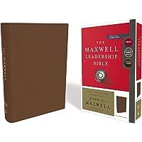 NKJV, Maxwell Leadership Bible, Third Edition, Premium Cowhide Leather, Brown, Comfort Print