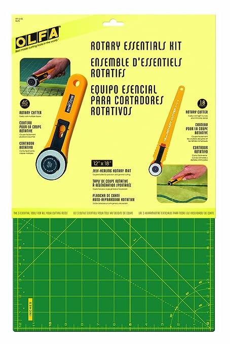 amazon com olfa rotary essentials kit