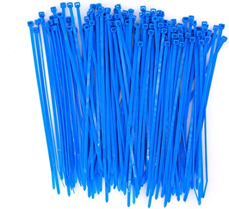 Nylon Wire Cable Zip Ties For Garden Office Kitchen 8 Inch Heavy Duty 48 lbs