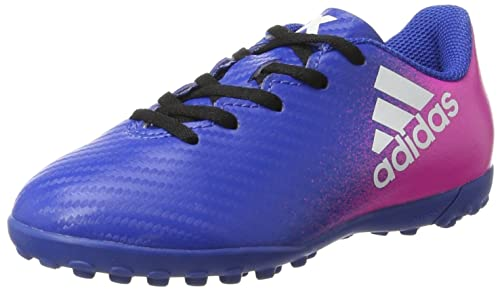 adidas X 16.4 Turf, Scarpe da Calcio Unisex Bambini, Blu