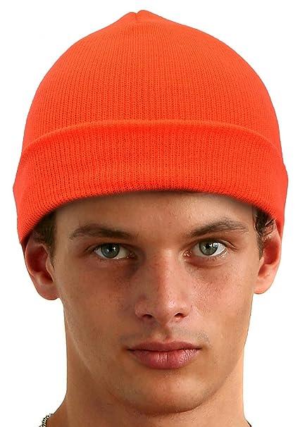Amazon.com  KC Caps Unisex Blaze Orange Hunting Hat c801b9056cb