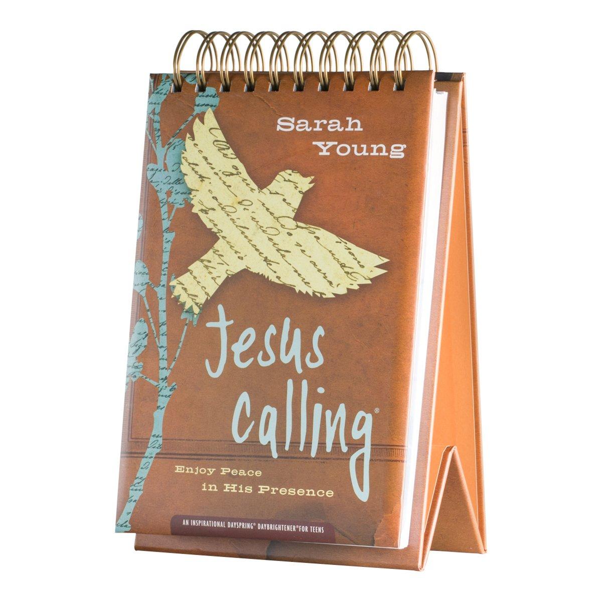 DaySpring DayBrightener Jesus Callingティーンby Sarah Young Large Daybrightener Perpetual Calendar   B00K8ULNQ2
