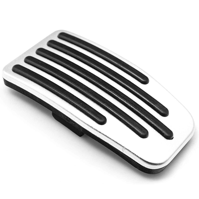 Xotic Tech for Tesla Model 3 Accelerator Brake Pedal Cover Non-Slip Aluminium Brake Foot Pedal Pad with Rubber Handle Set of 2 Anti-Slip Gas Brake Paddle Protector