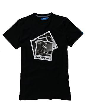 Adidas Camiseta w69174.Negro w69174, Negro, Small: Amazon.es: Deportes y aire libre