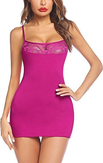 Details about  /Avidlove Women Lace Chemises Lingerie Mini Babydoll Sleepwear  S-XXXL