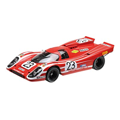 Minichamps 125706623 1:12 Porsche 917 K Attwood/Herrmann Winners Le Mans 24 Hours 1970 Model, Multi-Colour: Toys & Games