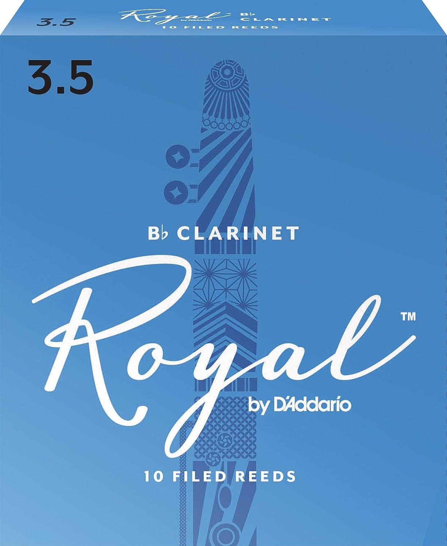 B0002E1UCQ Royal Bb Clarinet Reeds, Strength 3.5, 10-pack 71iJDWjBwtL