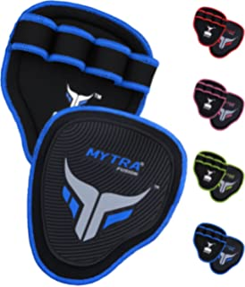 Mytra Fusion Grip Pads Gym Bar Grips Gym Hand Grip Gloves