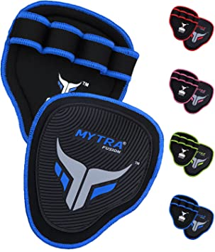 Mytra Fusion Grip Pads Gym Bar Grips Gym Hand Grip Gloves: Amazon.es: Deportes y aire libre