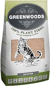 Greenwoods Natural - Arena para Cebo (30 L): Amazon.es: Productos para mascotas