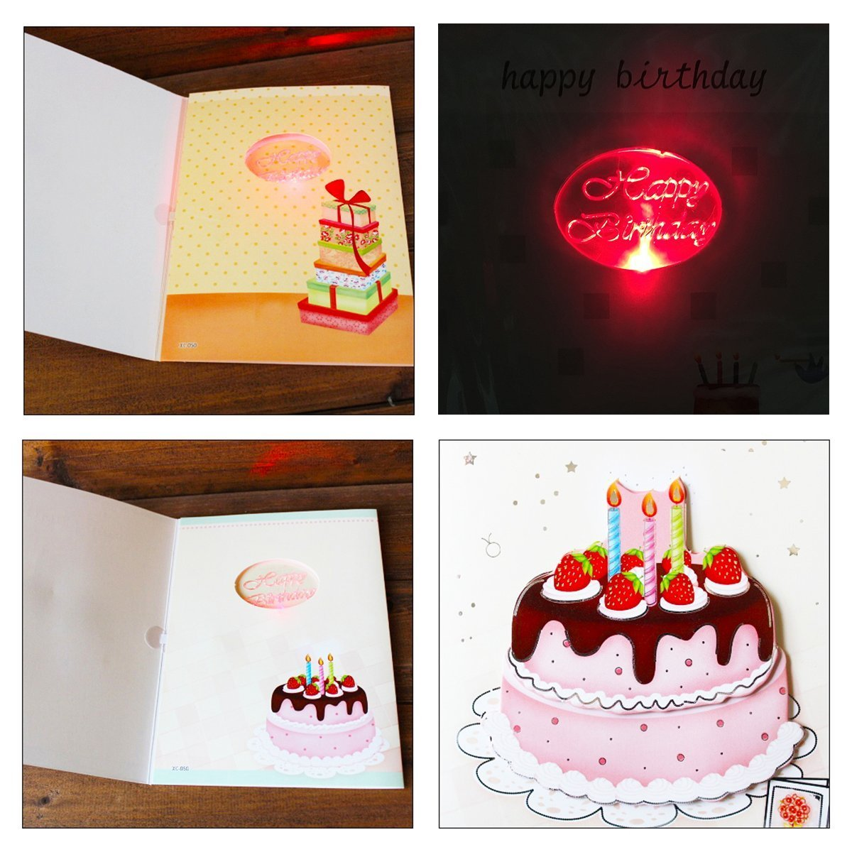 Amazon Musical Birthday Card Interactive Sound Birthday Cards