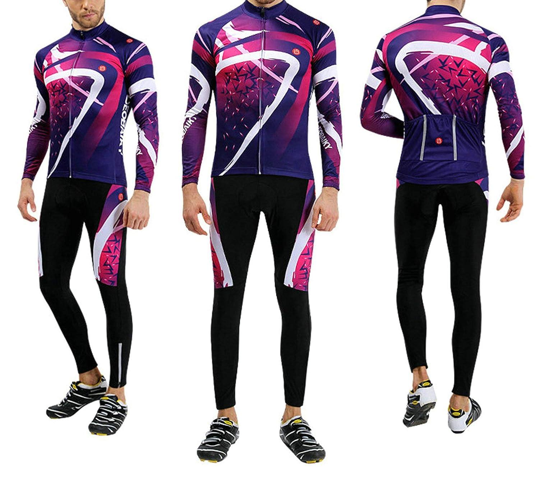 Aooaz Mountain Bike Riding Suit Trousers Set Mens Spring Summer Fall Bike Long Set