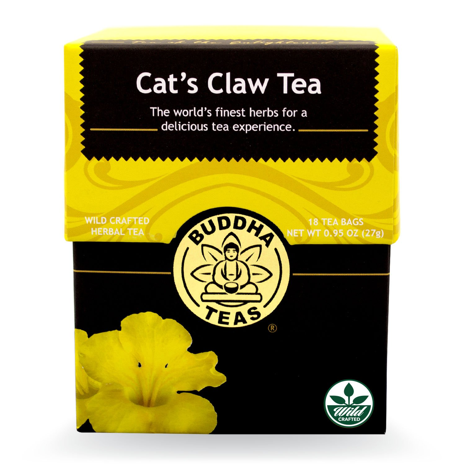 Buddha Teas Cat's Claw Tea, 18 Count (Pack of 6)