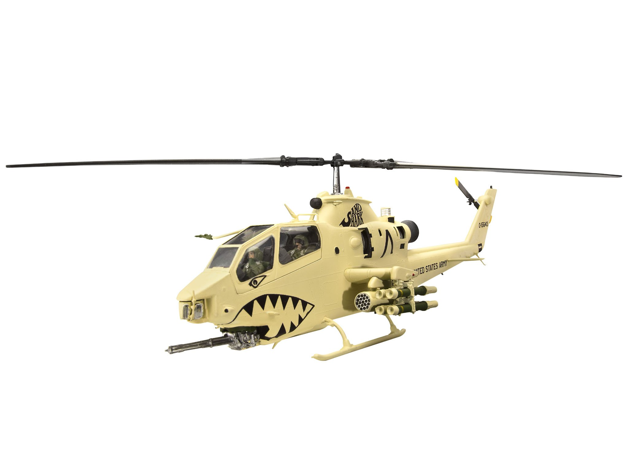 Bell AH1F Cobra Combat Helicopter 1/48 Revell Germany