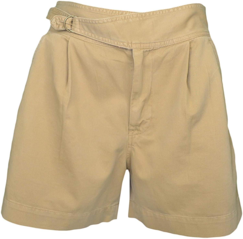 Beige sabbia colore Pantaloncini da donna Ralph Lauren