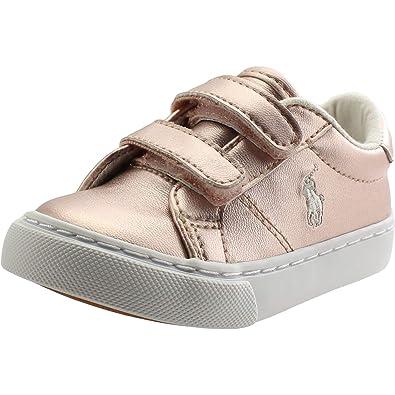 guarda bene le scarpe in vendita ultimo stile del 2019 prezzi incredibili Ralph Lauren Polo Edgewood Ez Rosa Metallico Bambino ...