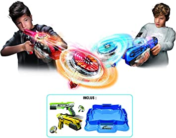 Silverlit Spinner Mad by Pack Deluxe 2 Jugadores – 1 areno, 2 ...