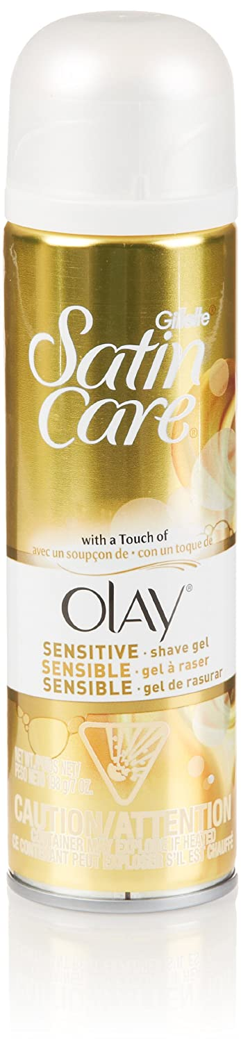 Amazon.com: Gillette Satin Care with a Touch of Olay Shave Gel for Women 7 Oz: Prime Pantry