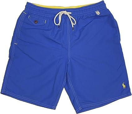 Polo Ralph Lauren para Hombre Boxer Forrado Swim Trunks - Azul ...