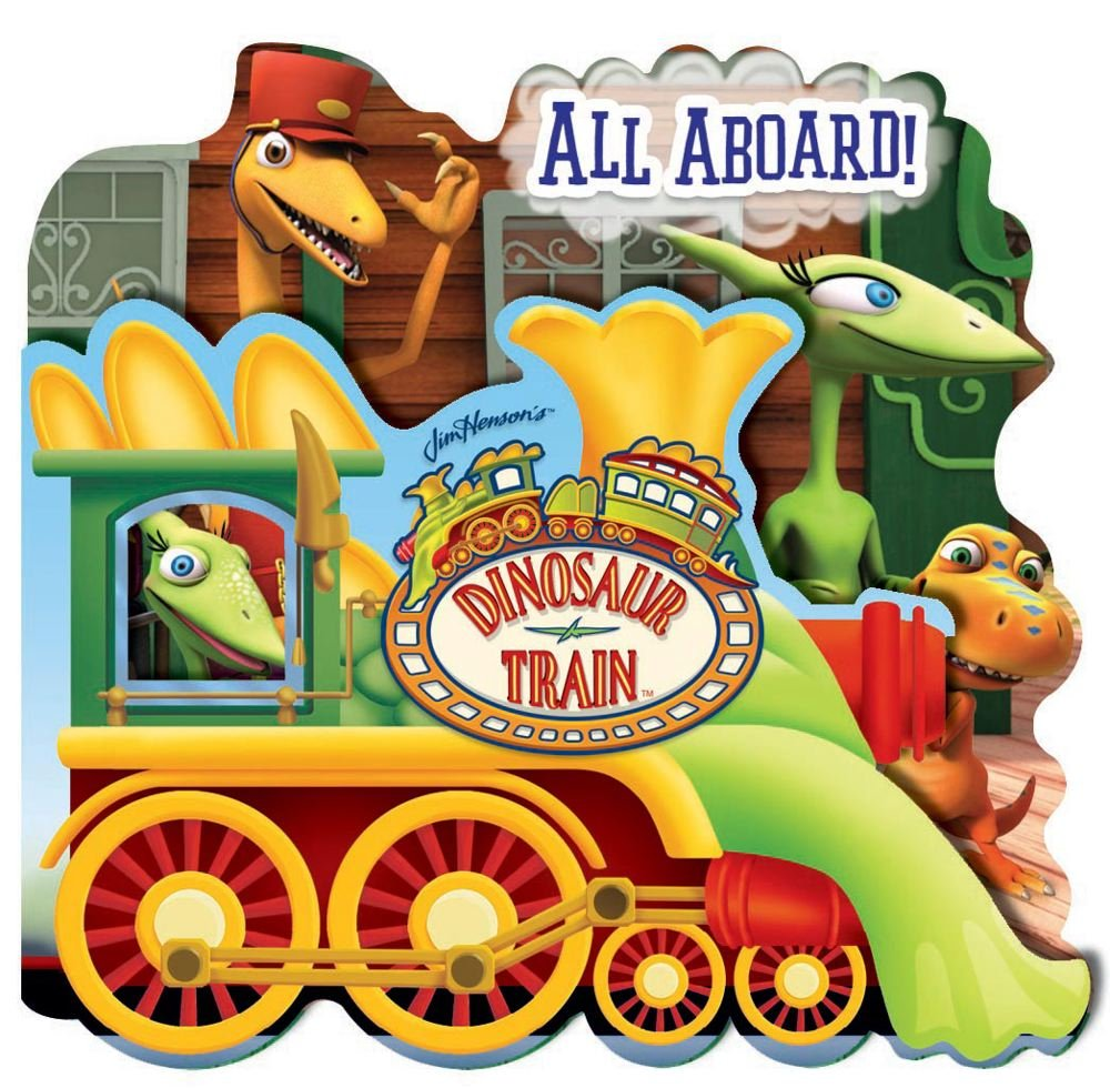 Dinosaur Train All Aboard! (SHAPED FOLD-OUT) ebook
