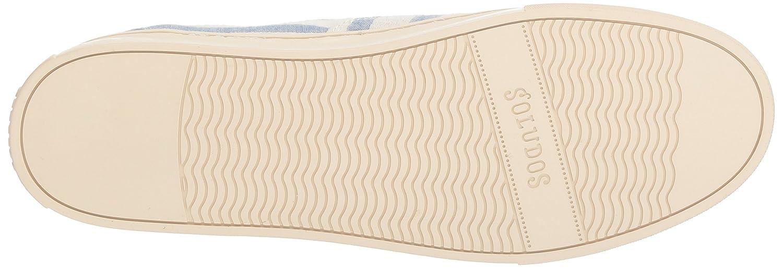 Soludos Women's Platform Stripe Sneaker B077Y3B81T 11 B(M) US|Natural/Blue