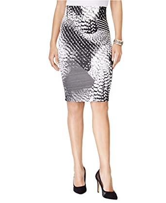 ff1f6c586 Thalia Sodi Womens Printed Scuba Pencil Skirt Geo Cloud Combo, XS ...