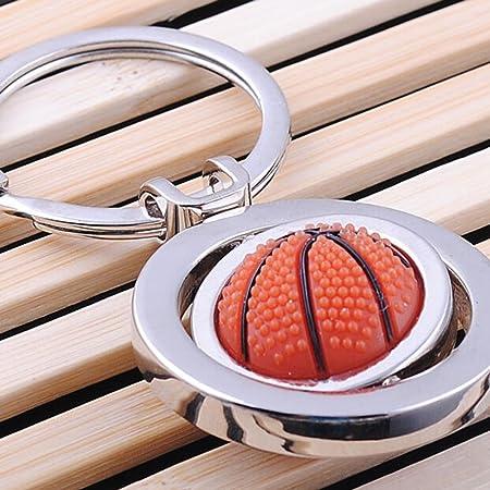 Skyeye Personalidad Tipo de Baloncesto Llaveros Bolsas Turnables de Doble Cara Colgantes Joyer/ía Llavero Joyer/ía Peque/ños recuerdos Regalo de Cumplea/ños