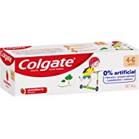 Colgate Kids Toothpaste 4-6 Years Strawberry Flavour Anticavity Fluoride Children's Tooth paste No Artificial Flavours…