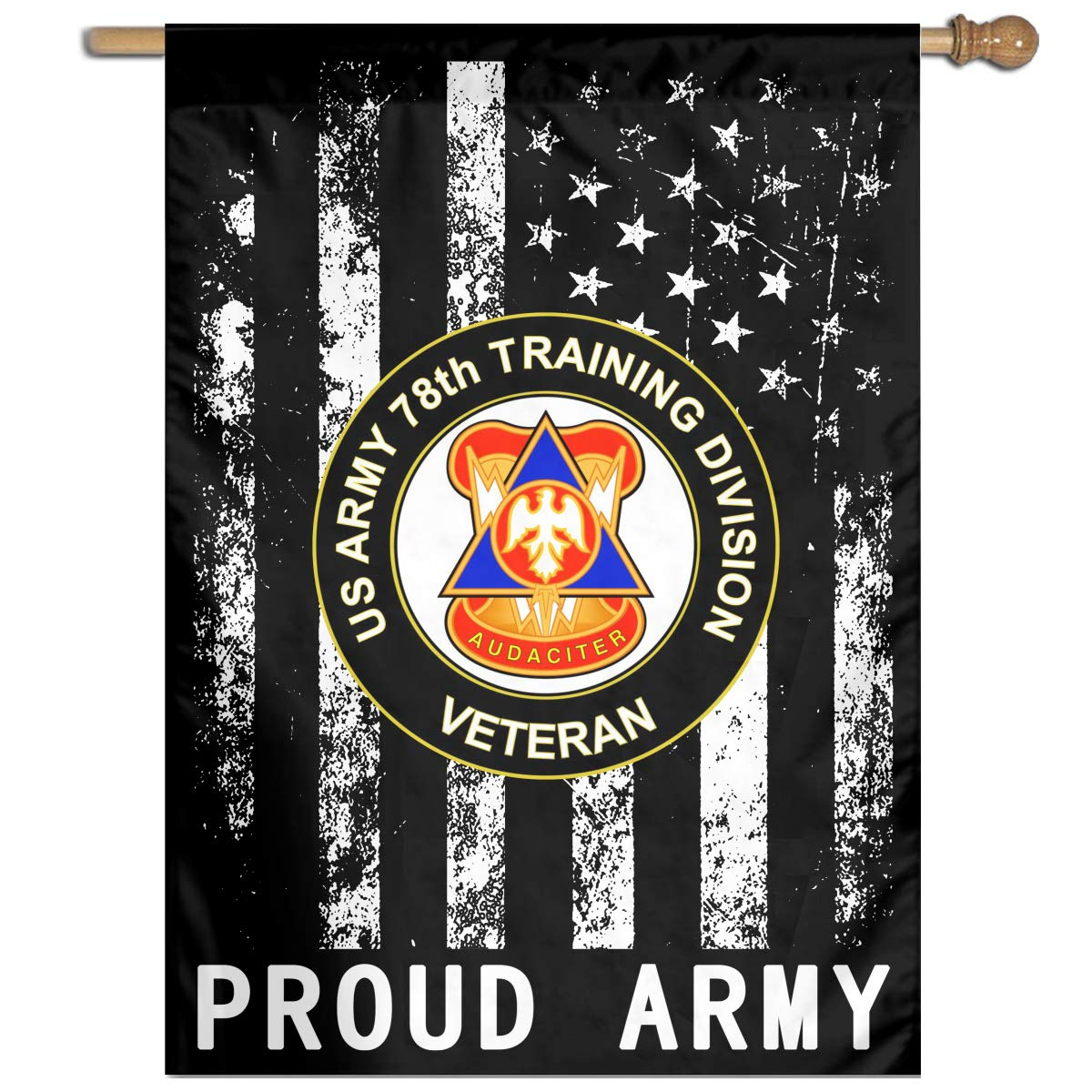 Amazon FFFlag Er US Army 78th Training Division Veteran Welcome Garden Flag Yard Family 27x37 Sports Outdoors