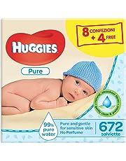 Huggies - Toallitas para bebe, 4 paquetes de 3 unidades cada uno (12 paquetes