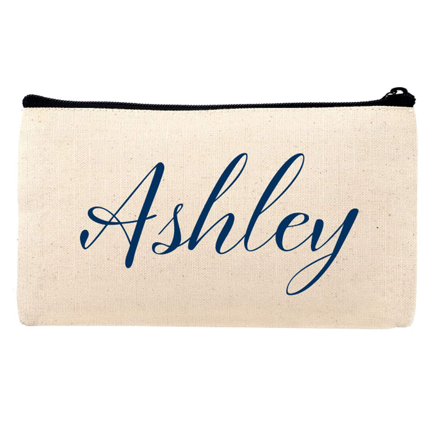 Personalized Makeup Bag Customize Name Travel and Cosmetic Pouch Organizer