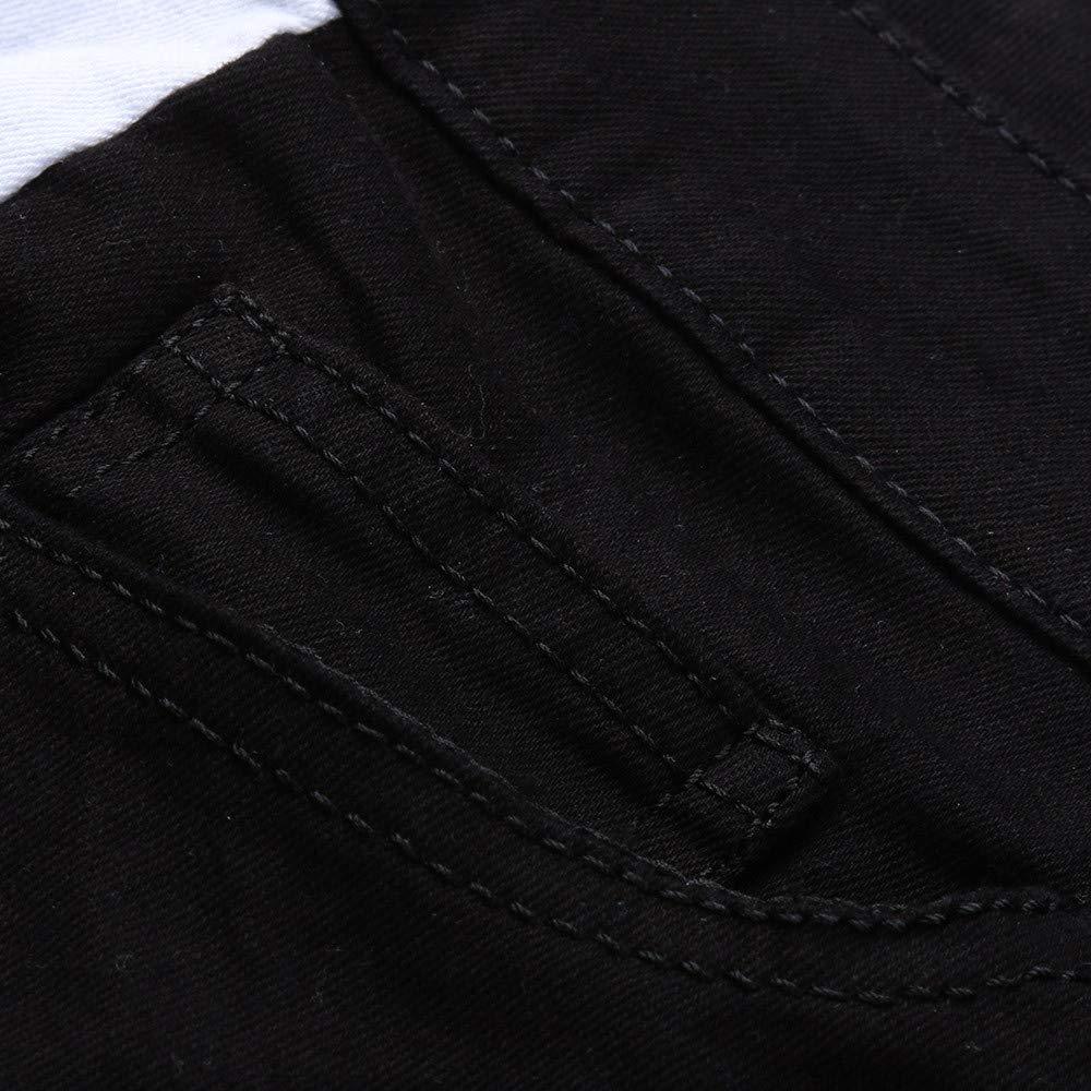 Rambling 2018 New Mens Slim Fit Ripped Vintage Moto Biker Jeans Skinny Denim Pencil Pants Hiphop Streetwear Jeans