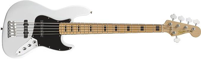 Fender Bajo Squier Vintage Modified Jazz Bass® V, Maple Fingerboard, Ol: Amazon.es: Instrumentos musicales