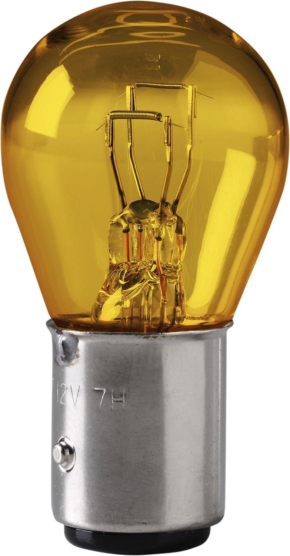 EIkO Auto Lighting Pack of 2 Eiko 1157NA-BP Hi-Temp Amber Miniature Lamp,