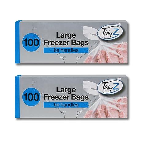 200 Bolsas de congelación grande/2 paquetes de 100 libre ...